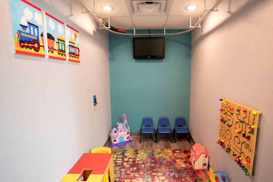 Play area Little Apple Pediatric Dentistry