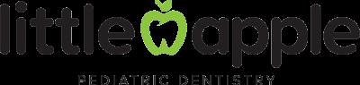 Little Apple Pediatric Dentistry stacked logo